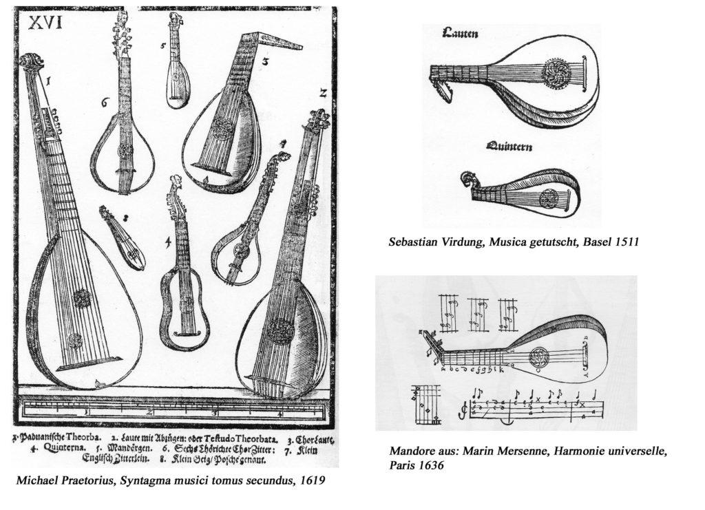 Saiteninstrumente des 16. und 17. Jahrhunderts